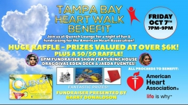 Tampa Bay Heart Walk Benefit in Largo le Fri, October  7, 2016 from 07:00 pm to 09:00 pm (Before Gay)