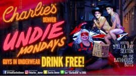 DenverUndie Mondays2019年 9月 2日,21:00(男同性恋 俱乐部/夜总会)