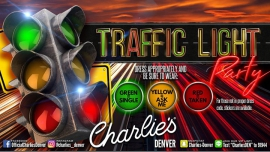 Traffic Light Party à Denver le jeu.  5 avril 2018 de 22h00 à 02h00 (Clubbing Gay)