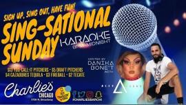 Sing-Sational Sunday Karaoke à Chicago le dim. 25 février 2018 à 20h00 (Clubbing Gay)