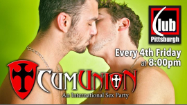 CumUnion Pittsburgh at Club Pittsburgh in Pittsburgh le Fri, August 23, 2019 from 08:00 pm to 04:00 am (Sex Gay)