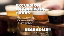 Bearadise Excursion Brewery Tour in Oklahoma City le Thu, July  9, 2020 from 05:30 pm to 10:30 pm (Festival Gay, Bear)
