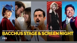 Bacchus Stage & Screen Night in Honolulu le Mo 10. August, 2020 19.00 bis 23.00 (After-Work Gay)