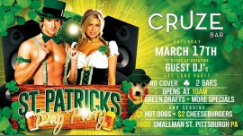 Saint Patrick's day Parade After Party in Pittsburgh le Sat, March 11, 2017 from 10:00 am to 09:00 pm (After-Work Gay)