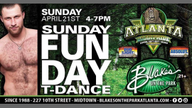 AtlantaAtlanta Bear Pride Sunday Funday T Dance at Blakes2019年 4月21日,16:00(男同性恋, 熊 下班后的活动)