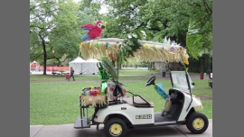Golf cart parade in Collins le Fri, October 21, 2016 from 05:30 pm to 08:00 pm (Clubbing Gay, Lesbian)