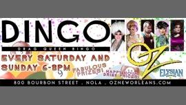 New OrleansDrag BINGO at Oz2020年 6月22日,18:00(男同性恋 下班后的活动)