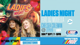 Ladies Night à Queenstown le dim.  1 septembre 2019 de 19h00 à 22h00 (After-Work Lesbienne)