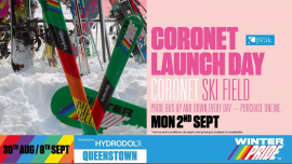 QueenstownWinter Pride '19 Coronet Peak Launch Day2019年 9月 2日,09:00(男同性恋, 女同性恋 节日)