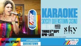Skycity Karaoke à Queenstown le jeu.  5 septembre 2019 de 20h00 à 01h00 (After-Work Gay, Lesbienne)