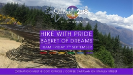 Hike with Pride to the Basket of Dreams en Queenstown le vie  7 de septiembre de 2018 10:00-13:00 (Deportes Gay, Lesbiana)