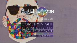 Comedy Night à Queenstown le ven.  7 septembre 2018 de 20h00 à 21h30 (After-Work Gay, Lesbienne)