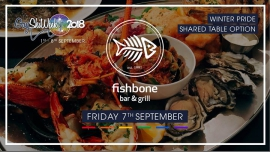 Fishbone Winter Pride Shared Table en Queenstown le vie  7 de septiembre de 2018 19:00-22:00 (After-Work Gay, Lesbiana)