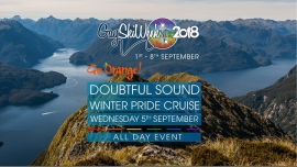 Doubtful Sound Winter Pride Cruise en Queenstown le mié  5 de septiembre de 2018 06:30-18:30 (Clubbing Gay, Lesbiana)