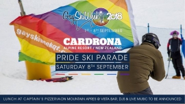 Mountain Pride Ski Parade Day at Cardrona à Wanaka le sam.  8 septembre 2018 de 08h00 à 16h00 (Parades / Défilés Gay, Lesbienne)