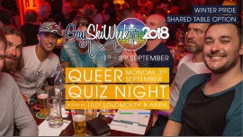 Queer Quiz Night à Queenstown le lun.  3 septembre 2018 de 19h00 à 23h00 (After-Work Gay, Lesbienne)