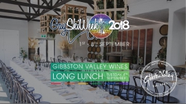 Gibbston Valley Long Lunch à Queenstown le mar.  4 septembre 2018 de 11h30 à 15h30 (After-Work Gay, Lesbienne)