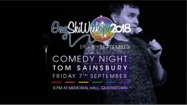 Winter Pride Comedy Night with Tom Sainsbury en Queenstown le vie  7 de septiembre de 2018 20:00-21:30 (After-Work Gay, Lesbiana)