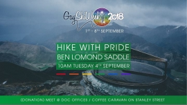 Hike with Pride to Ben Lomond Saddle à Queenstown le mar.  4 septembre 2018 de 10h00 à 15h00 (Sport Gay, Lesbienne)