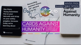 Cards Against Humanity + Pizza Night in Queenstown le Thu, September  6, 2018 from 06:00 pm to 08:00 pm (Festival Gay, Lesbian)