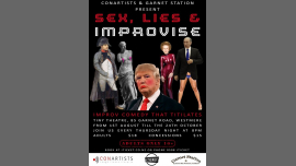 Sex, Lies and Improvise! a Auckland le gio 19 settembre 2019 20:00-21:00 (Spettacolo Gay friendly, Lesbica friendly)