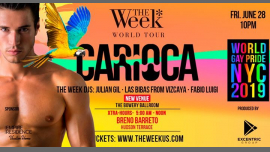 The Week ✽ New York - World Gay Pride 2019. in New York le Sat, June 29, 2019 from 05:00 am to 12:00 am (Clubbing Gay, Lesbian)