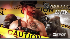 Gorillas - Caution in Paris le Sa 23. Februar, 2019 23.30 bis 07.00 (Clubbing Gay)