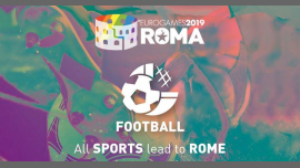 Roma Eurogames 2019 - Football A5 Tournament in Rome le Thu, July 11, 2019 from 09:00 am to 12:00 pm (Sport Gay, Lesbian, Trans, Bi)