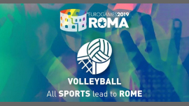 Roma Eurogames 2019 - Volleyball Tournament in Rom le Sa 13. Juli, 2019 09.00 bis 16.00 (Sport Gay, Lesbierin, Transsexuell, Bi)