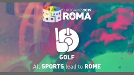 罗马Roma Eurogames 2019 - Golf Tournament2019年 9月12日,09:00(男同性恋, 女同性恋, 变性, 双性恋 体育运动)