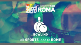 罗马Roma Eurogames 2019 - Bowling Tournament2019年 9月11日,09:00(男同性恋, 女同性恋, 变性, 双性恋 体育运动)