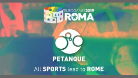 Roma Eurogames 2019 - Petanque Tournament in Rome le Fri, July 12, 2019 from 09:00 am to 09:00 pm (Sport Gay, Lesbian, Trans, Bi)