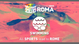 罗马Roma Eurogames 2019 - Swimming Tournament2019年 9月13日,09:00(男同性恋, 女同性恋, 变性, 双性恋 体育运动)