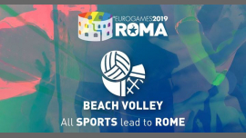Roma Eurogames 2019 - Beach Volley Tournament à Rome le sam. 13 juillet 2019 de 09h00 à 16h00 (Sport Gay, Lesbienne, Trans, Bi)