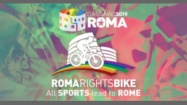 Roma Eurogames 2019 - Roma Rights Bike 10 km (not competitive) à Rome le sam. 13 juillet 2019 de 10h00 à 16h00 (Sport Gay, Lesbienne, Trans, Bi)