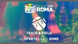 Roma Eurogames 2019 - Track & Field Tournament à Rome le ven. 12 juillet 2019 de 09h00 à 21h00 (Sport Gay, Lesbienne, Trans, Bi)