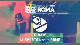 Roma Eurogames 2019 - Rugby Tournament à Rome le ven. 12 juillet 2019 de 09h00 à 21h00 (Sport Gay, Lesbienne, Trans, Bi)