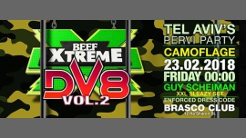 BEEF Xtreme DV8 Camoflage in Tel Aviv le Fri, February 23, 2018 from 11:59 pm to 06:00 am (Clubbing Gay)