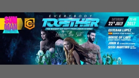 TOGETHER PARTY - UNDER THE SEA - LISBOA in Lisbon le Sat, July 22, 2017 from 11:45 pm to 06:04 am (Clubbing Gay, Bear)