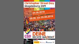 CSD Magdeburg 2019 (official) à Magdeburg le sam. 24 août 2019 de 12h00 à 23h59 (Festival Gay, Lesbienne, Trans, Bi)