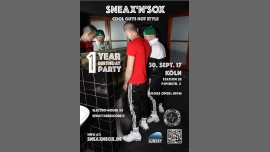 科隆1 Year SNEAX'n'SOX Party Köln2017年10月30日,22:00(男同性恋 性)