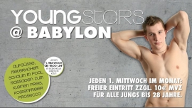 YoungSTARS in Köln le Mi  4. Oktober, 2017 18.00 bis 00.00 (Sexe Gay)