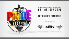 Pride Festival Cologne 2020 by SEXY Greenkomm Naughtycontrol in Koln from  3 til July  7, 2020 (Clubbing Gay)