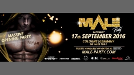 MALEparty -MassiveOpeningParty- in Koln le Sat, September 17, 2016 from 10:00 pm to 08:00 am (Clubbing Gay)
