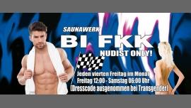 BI FKK - Everybodys Welcome Spezial - Naked en Francfort-sur-le-Main le vie 24 de enero de 2020 12:00-06:00 (Sexo Gay)