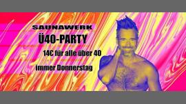 Ü40 Party à Francfort-sur-le-Main le jeu. 15 août 2019 de 12h00 à 03h00 (Sexe Gay)