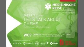 Let´s talk about chems a Berlino le mer 26 settembre 2018 19:00-20:30 (Prévention santé Gay, Lesbica, Trans, Bi)