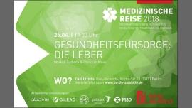 Gesundheitsfürsorge: Die Leber em Berlim le Qua, 25 Abril 2018 19:00-20:30 (Prévention santé Gay, Lesbica, Trans, Bi)