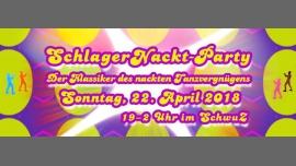 78. SchlagerNackt-Party à Berlin le dim. 22 avril 2018 de 19h00 à 02h00 (Clubbing Gay)
