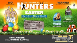 Hunters 3 ★ Easter Eggsplosion ★ 2017 in Berlin le Sat, April 15, 2017 from 10:00 pm to 06:00 am (Clubbing Gay)